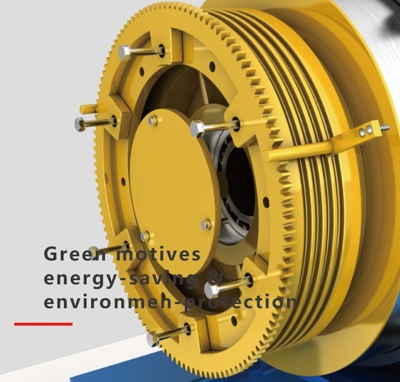 Permanent magnet synchronous gear free traction technology